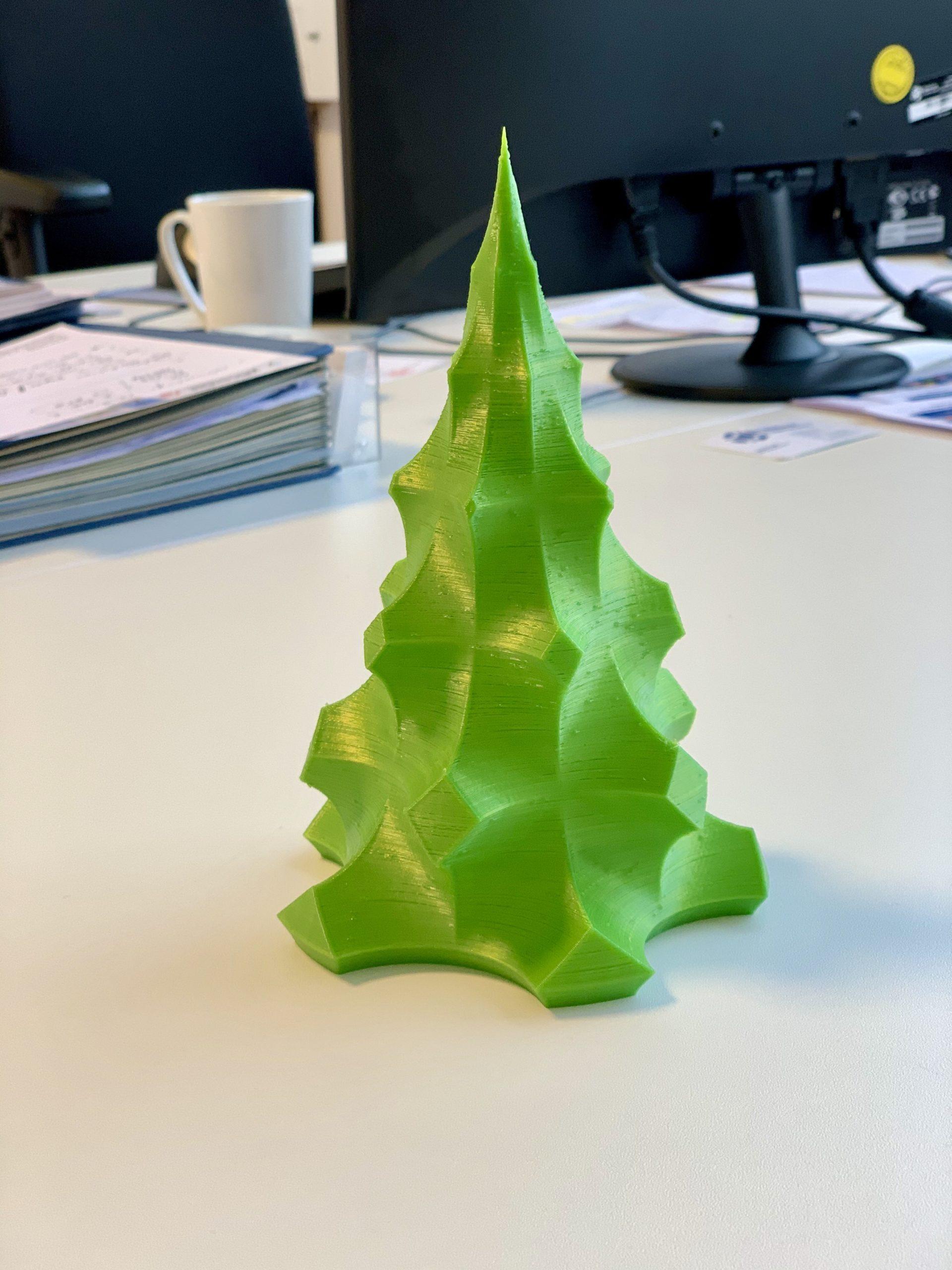Weihnachtsbaum aus dem 3D-Drucker